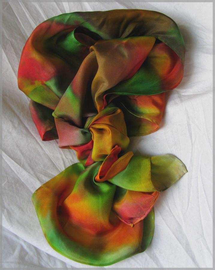 Silk scarf by Niad