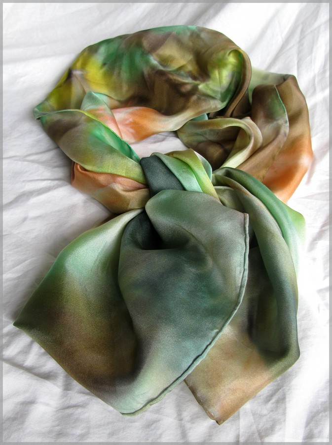 Spring Forest Scarf
