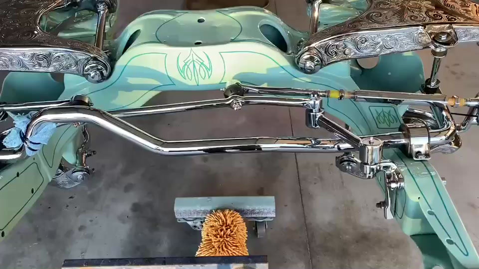 Custom Frame for a 1959 Impala
