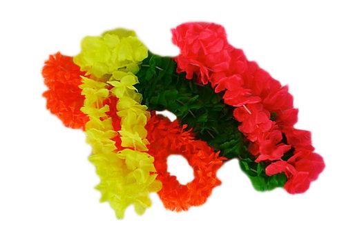 Paquete collares hawaianos (4piezas)