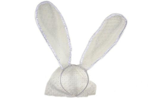 Bunny encaje blanco