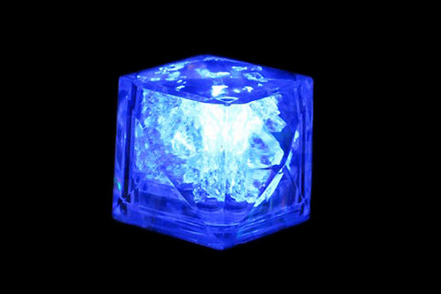 Cubo de hielo con luz
