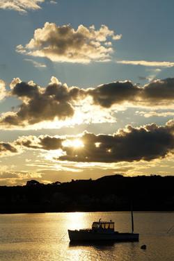 """Maine Sunset"""