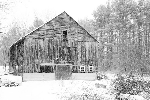 """Snowy Barn"""