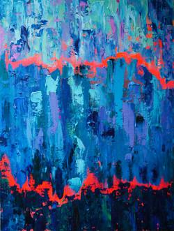 """""""Big Blue, Orange Breakthrough"""""""