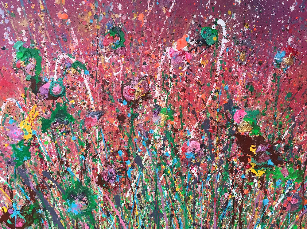 A Vision of Vivaldi's Spring, 2017, 30 x 40 inches