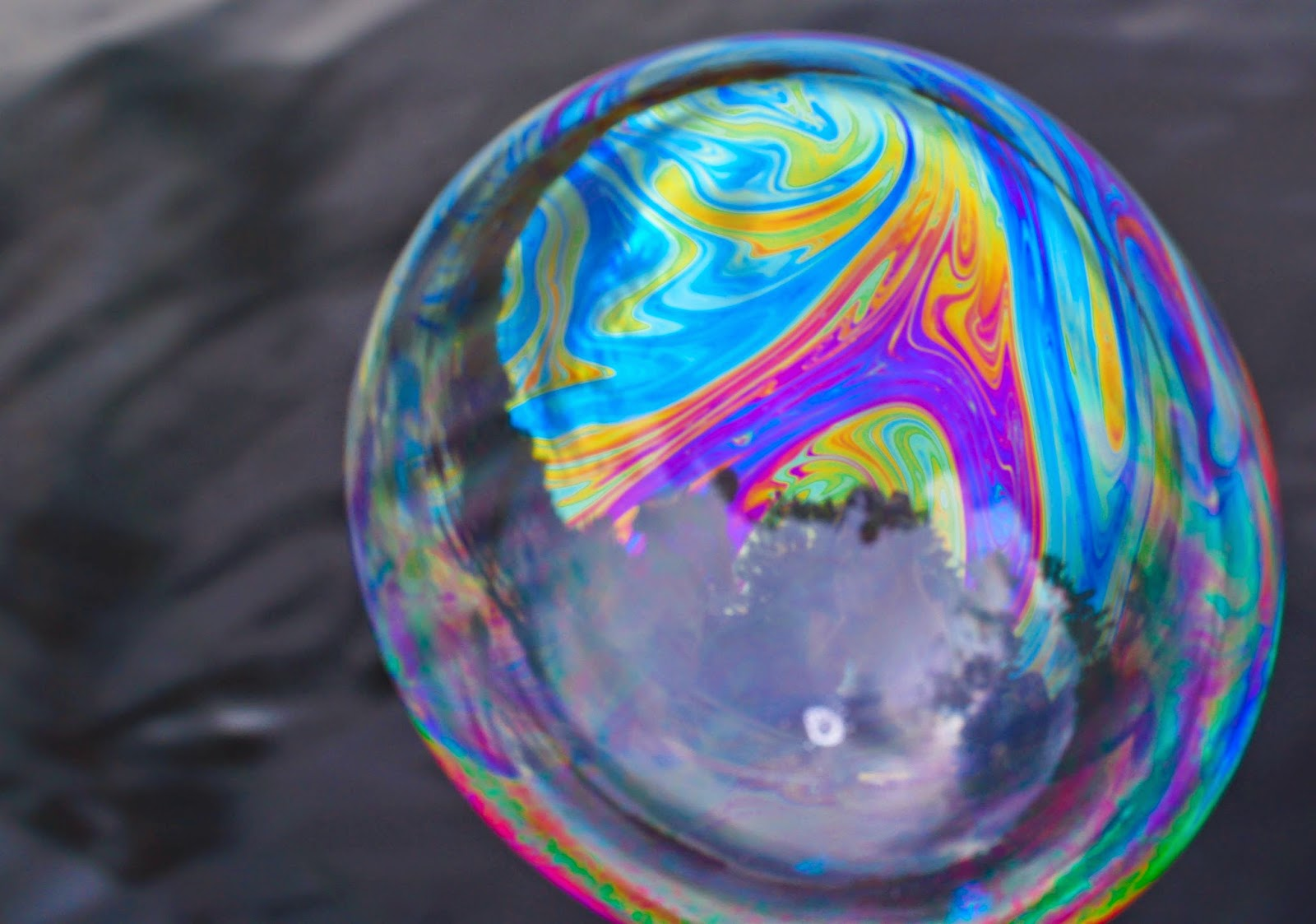"""The Iridescence of a Soap Bubble"""