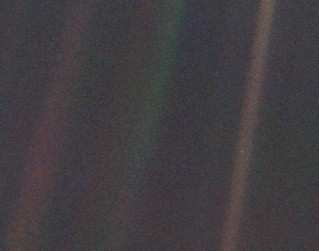 """The Pale Blue Dot"""