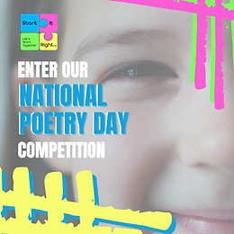 Enter Our National Poetry Day Competition