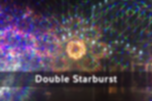 Double Starburst Diffraction
