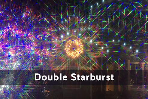 Double Starburst Diffraction