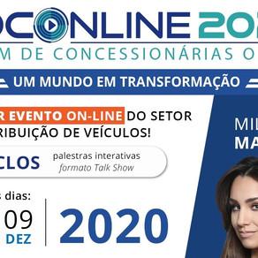 """Inscreva-se no FOCONLINE 2020 – """"Fórum de Concessionárias!"""""""