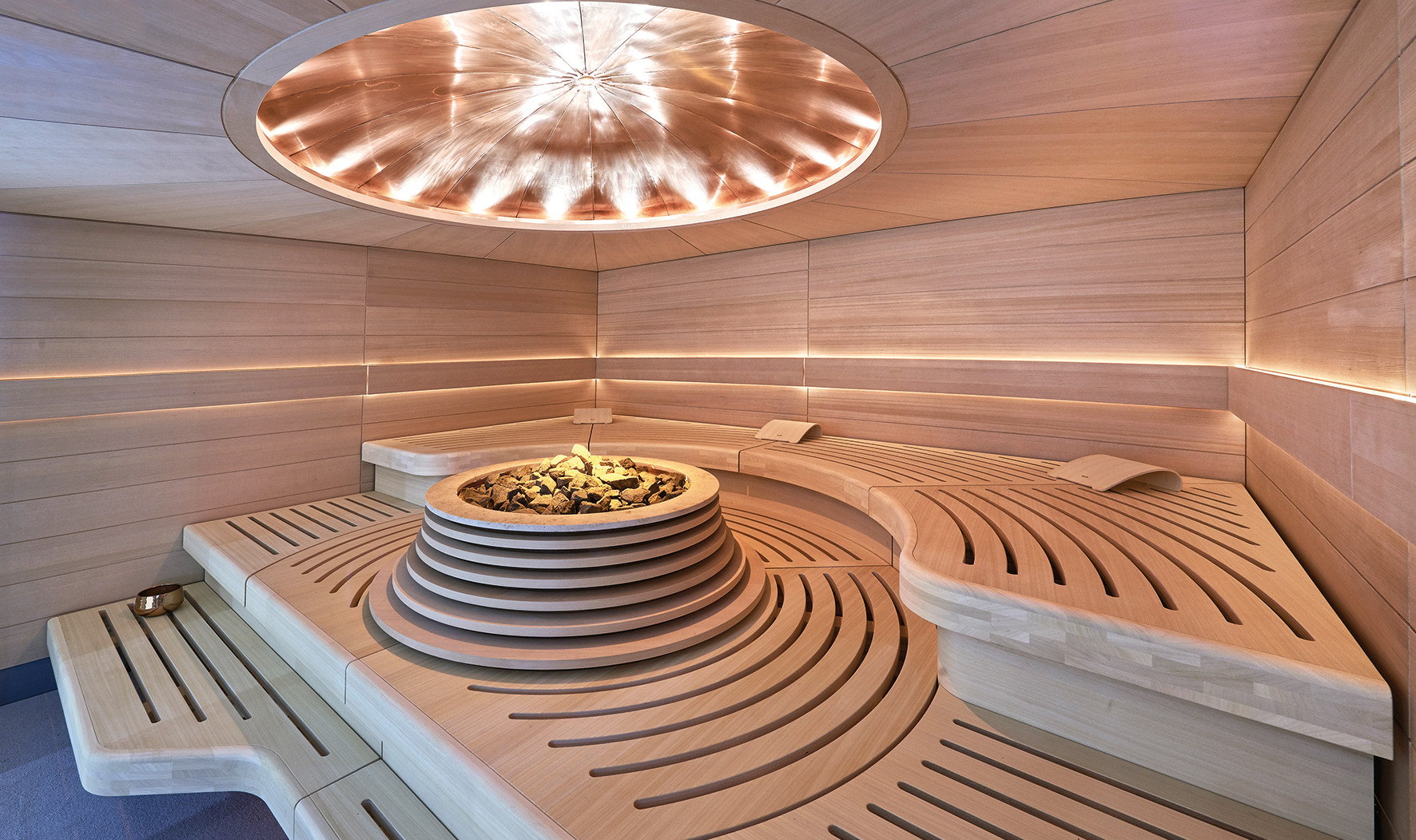 DOME Sauna by KLAFS