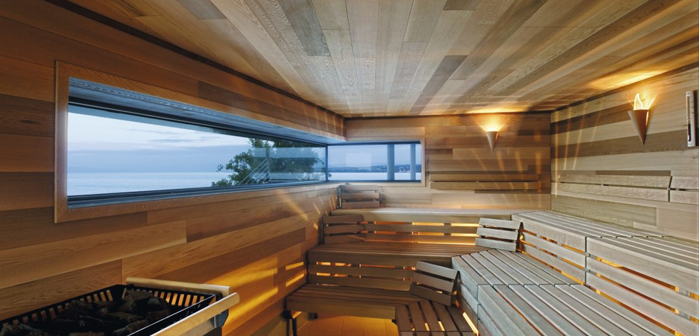 Sauna with Red Cedar wood