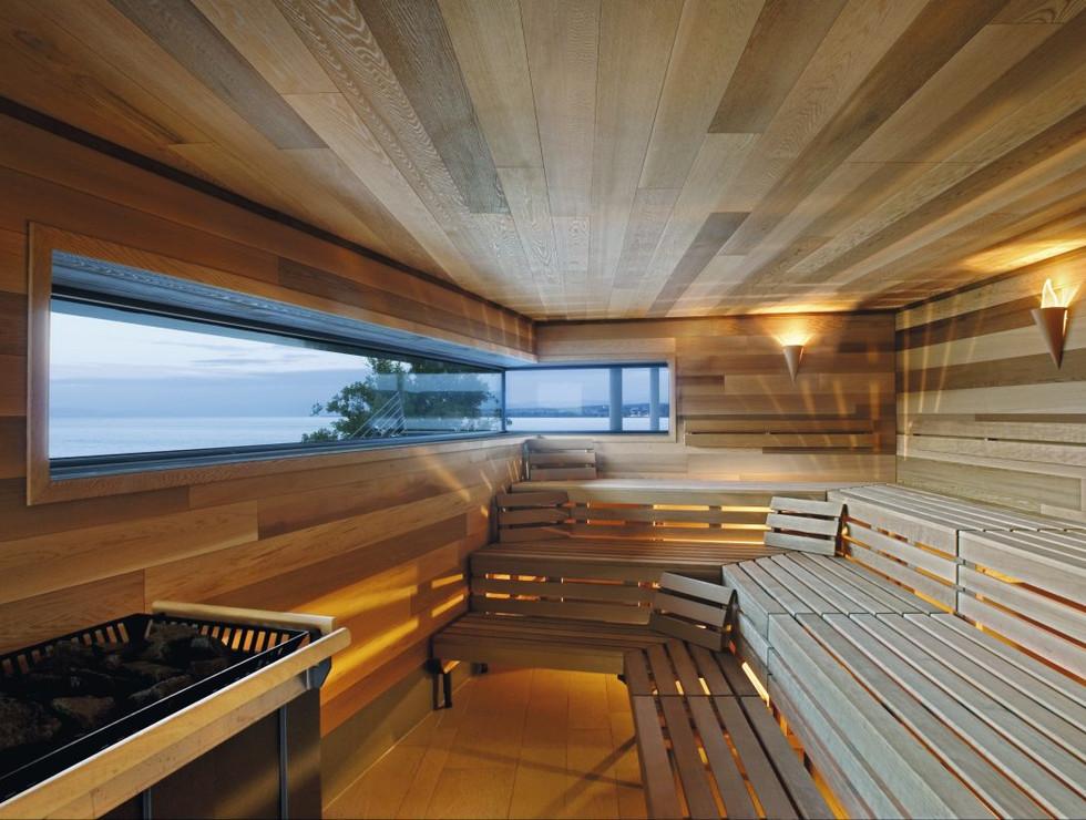 Sauna with Red Cedar wood