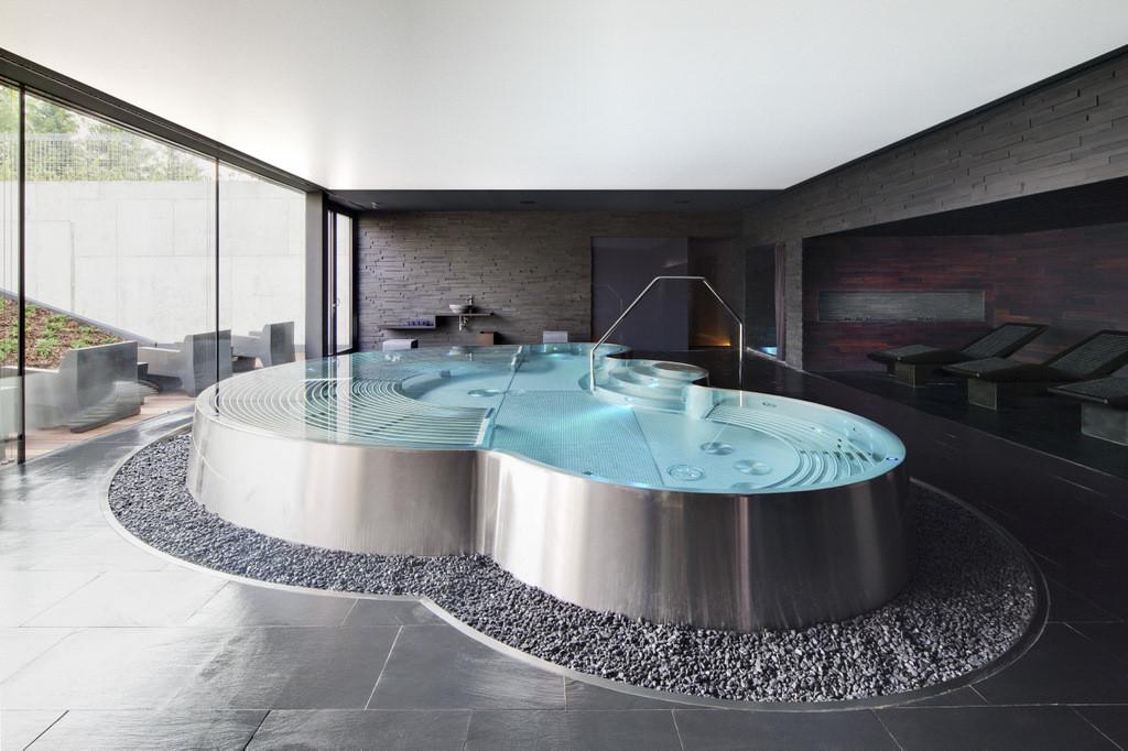 Stainless Steel indoor Pool