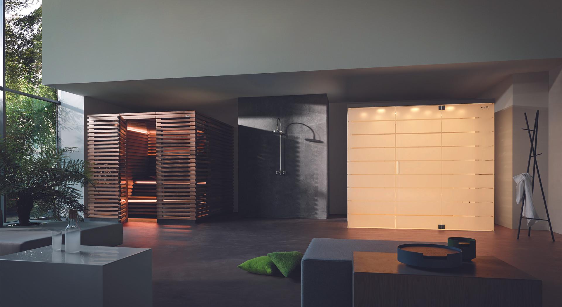 Matteo Thun Sauna & Steam Bath by KLAFS