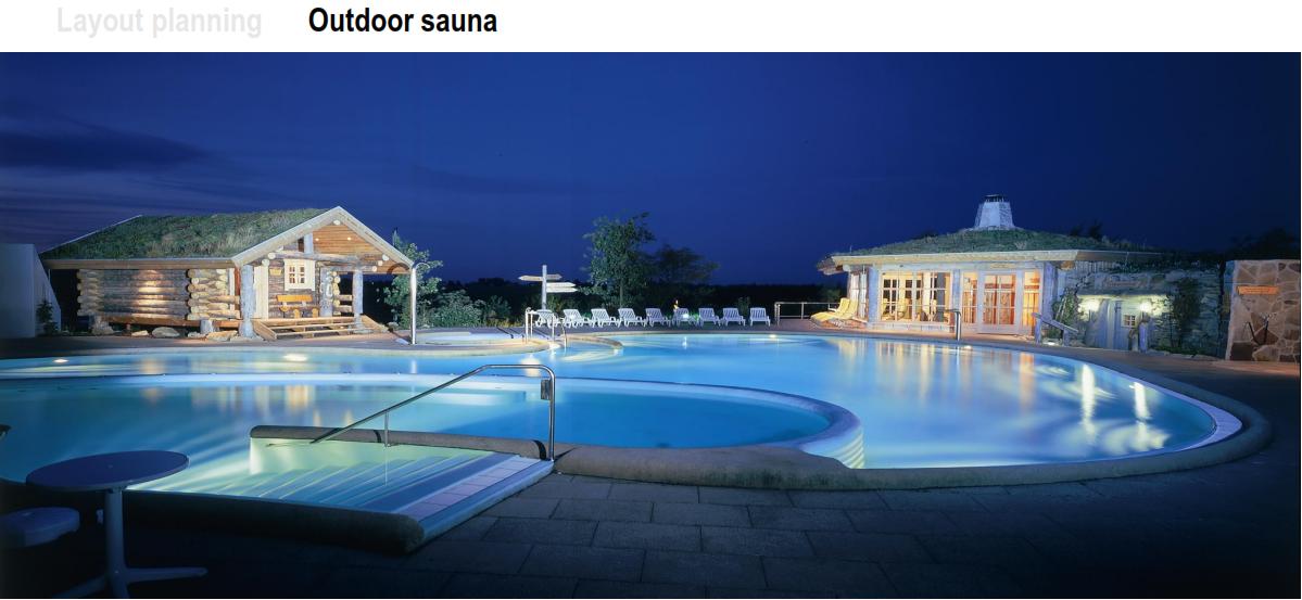 OutDoor Sauna by KLAFS