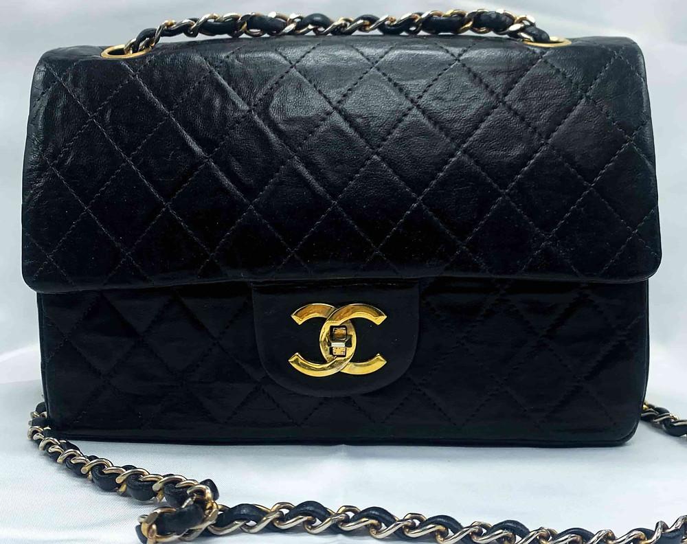 chanel timeless sac noir
