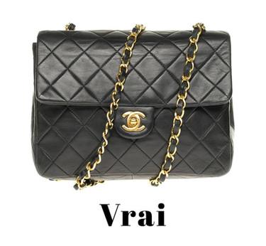 Comment reconnaître un vrai sac Chanel d'un faux?