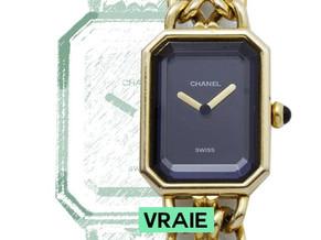 Comment reconnaître une vraie montre Chanel Première d'une fausse ?