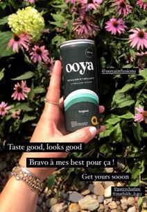 Le favori de Marine! Elle adore la saveur «original» car elle est rafraîchissante, hydratante et énergisante! Elle adore le petit goût sucré de la guayusa