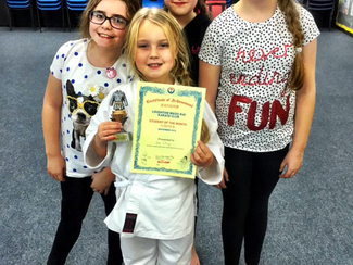 Student of the Month - November 2014