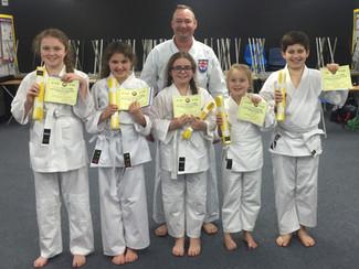 Beginners Grading - February 2015