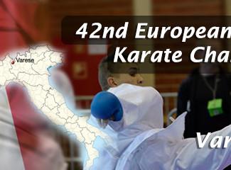 Sensei Jason selected to represent England at the 42nd European Wado-Kai Karate Championships.