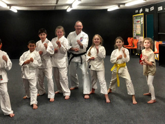 Loughton Wado-Kai Kicks off the new Karate Year with some new beginners!.