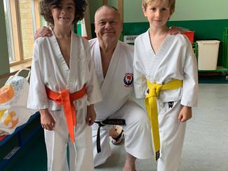 Karate Demo at Staples Road Primary School