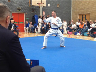 Jason wins Silver medal in Staffordshire Open Karate Championships 2014