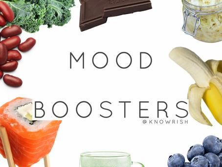 10 mood-boosting foods!
