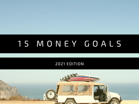 15 Best Money Goals for 2021
