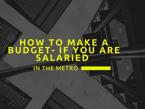 How to make a budget- if you are salaried