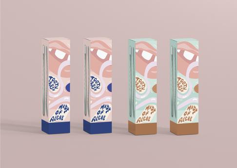 Toothbrush packaging design