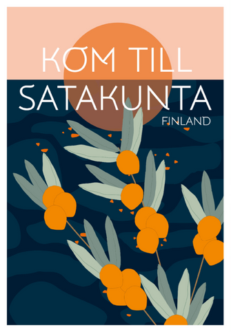 Poster competition Come to Satakunta