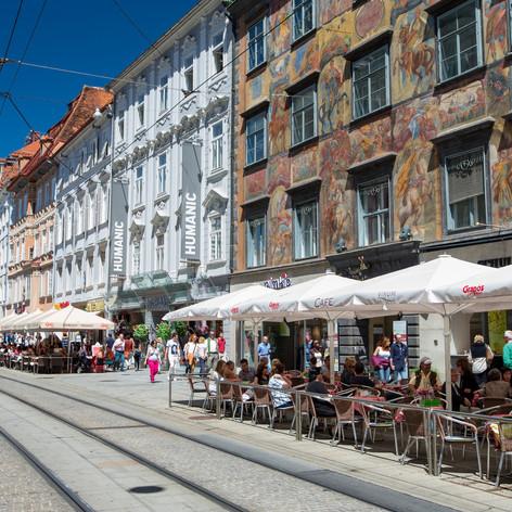 Herrengasse Graz (c) Graz Tourismus - Harry Schiffer