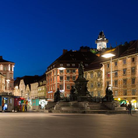 Hauptplatz (c) Graz Tourismus - Harry Schiffer