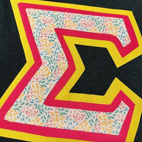 Tricolor Greek Letter T-Shirt