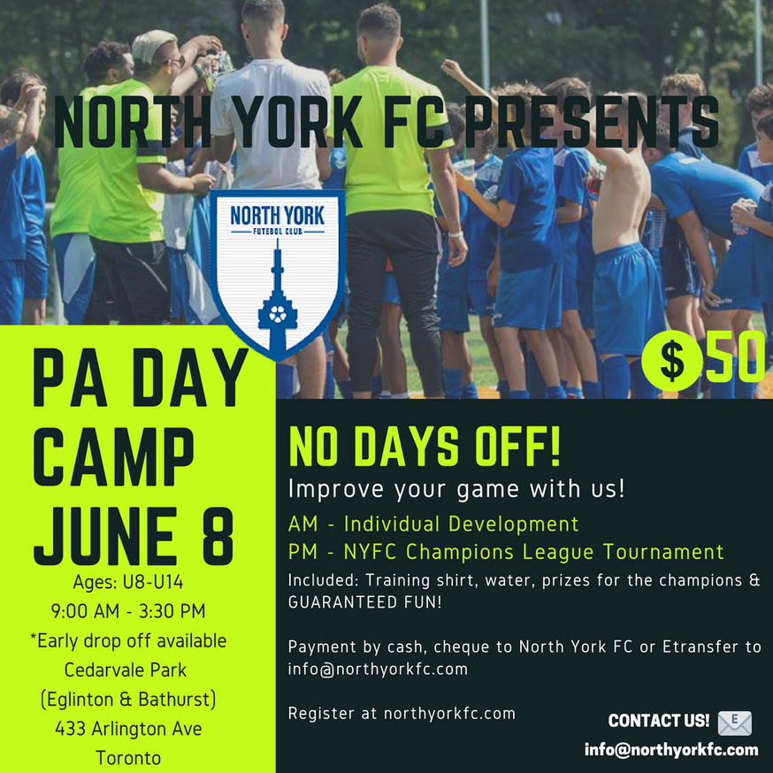 Registration for PA Day Camp Now Open!