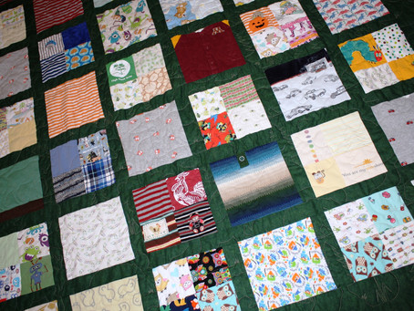 North Woods Memory Quilt