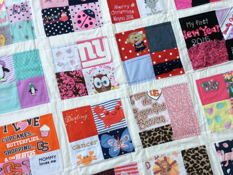 Baby's First Year Memory Quilt