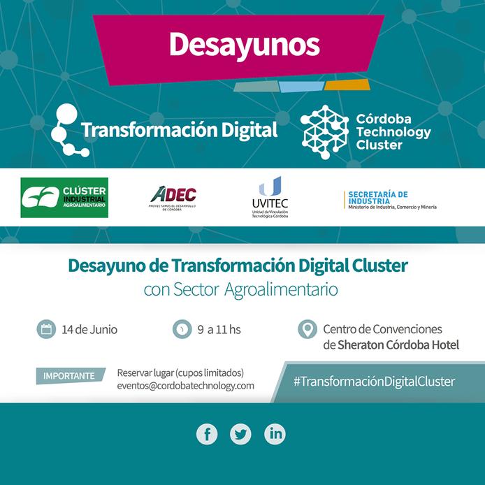 """3° Desayuno """"Programa de Transformación Digital + Agroalimentos"""