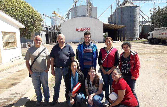 Visita de Alumnos del Instituto de Molinería