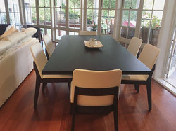 Delivered this beautiful custom made dining table with our Azzura chairs last week!! #rosefurniture
