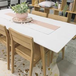 Our beautiful Marco table ❤️ #rosefurniture #homehubcastlehill #furniturestore #custommade #australi