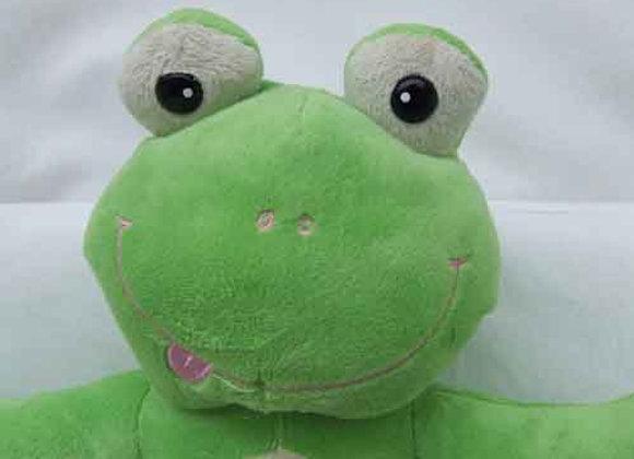 "16"" Green Frog -Create A Cuddly"