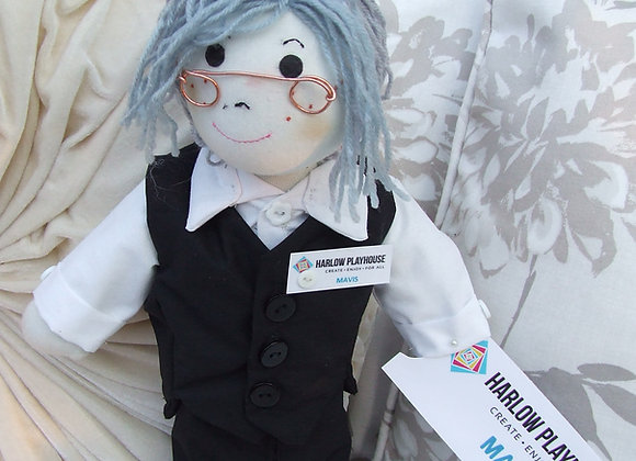 SELFIE grandma doll
