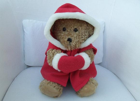 Christmas coat and hand warmer